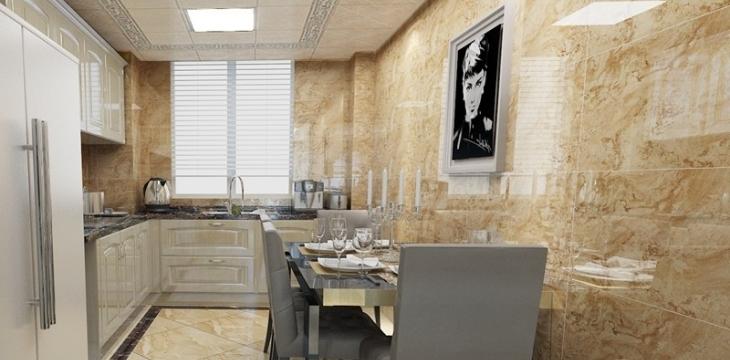 钟鼎悦城 厨房美学之作让空间不多一点浪费